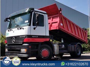 Camion benne Mercedes-Benz ACTROS 1843 4x2 full steel