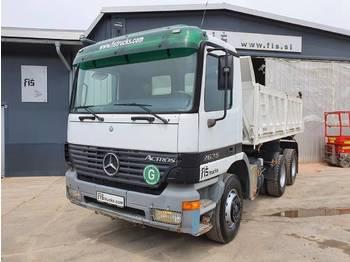 Mercedes Benz ACTROS 2635 6X4 tipper - euro 3 - ac - camion benne