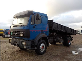 Camion benne Mercedes-Benz SK 1824 (BIG AXLE / STEEL SUSPENSION / V6)