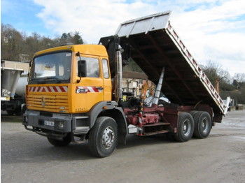 RENAULT G 300 MAXTER - camion benne