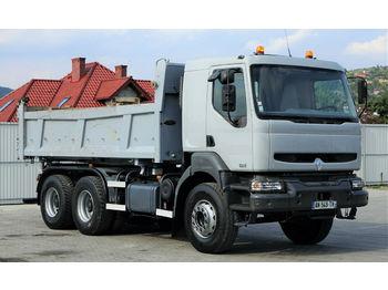 Renault KERAX 370 DCI Kipper + Bordmatic 5,10m 6x4  - camion benne