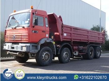 Camion benne Renault MAXTER 340 8x4 full steel