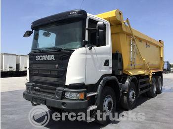 SCANIA 2018 G 450 8X4 AUTO EURO 6 AC HARDOX TIPPER - camion benne
