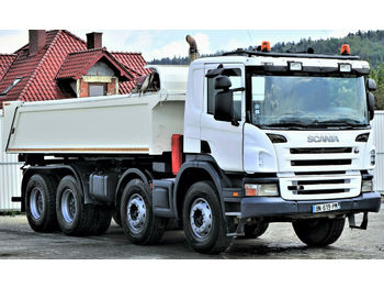 Scania P380 Kipper 5,70m + Bordmatic *8x4*Topzustand!  - camion benne