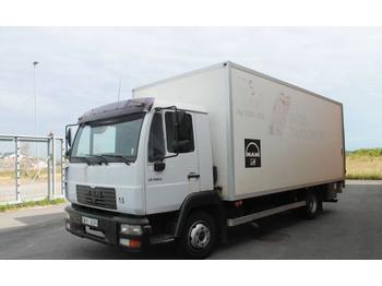 MAN 8.145 LLC  - camión caja cerrada