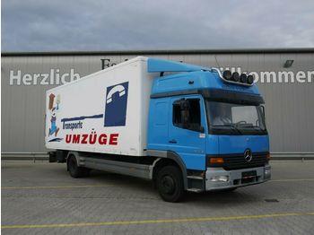 Camión caja cerrada Mercedes-Benz 1223 L, 4x2, LBW, Klima, Blatt-Luft, AHK