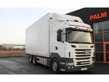 Scania R480LB6X2HNB Euro 5  - camión caja cerrada