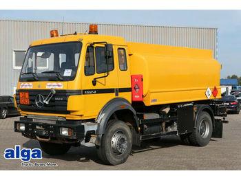 Camion citerne Mercedes-Benz 1824 AH/4x4/Allrad/Tank 12.600 ltr./Pumpe/AHK