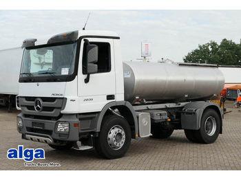 Camion citerne Mercedes-Benz 2035 S, Edelstahl Wasser, 8000ltr. Euro 2, Klima