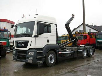 MAN TG-S 26.440 BL 6x2 Abrollkipper Lift+Lenkachse  - camion cu cârlig