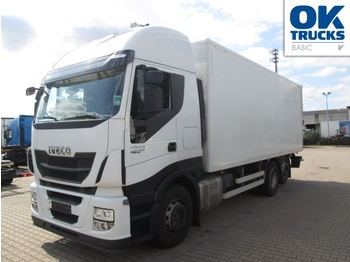 Camion fourgon Iveco Stralis AS260S42Y/P KOFFER/LBW