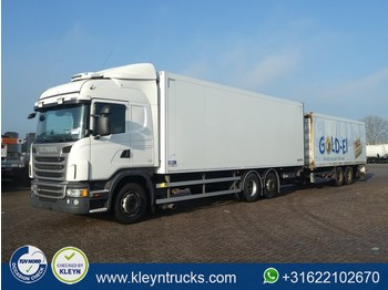 Camion fourgon Scania G420 6x2*4 retarder