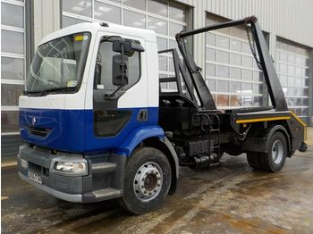 2005 Renault 4x2 Skip Lorry, Reverse Camera (Reg. Docs. & Plating Certificate Available, Tested 11/20) - camion multibenne