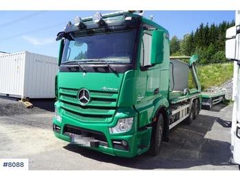 Mercedes Actros - camion multibenne