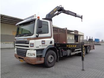 DAF CF 85-360 - camion plateau ridelle