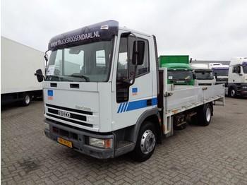 Iveco EuroCargo 85E18 + Manual + blad-blad - camion plateau ridelle
