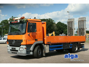 Camion plateau ridelle Mercedes-Benz 1844 L Actros 4x2, hydr. Rampen, 6.100mm lang,