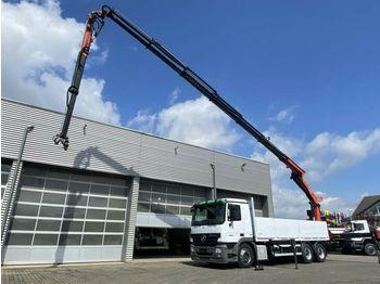 Mercedes-Benz Actros 2636 6x4 Pritsche Heckkran Funk+Jib 22,5m  - camion plateau ridelle
