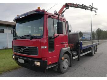 Camion plateau ridelle Volvo FL 6 Palfinger PK 5000-3