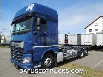 DAF FAR XF460 - camion porte-conteneur/ caisse mobile