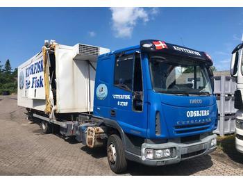 Iveco 100E 22  - camion porte-conteneur/ caisse mobile