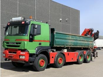 Iveco Trakker 450 - camion porte-conteneur/ caisse mobile