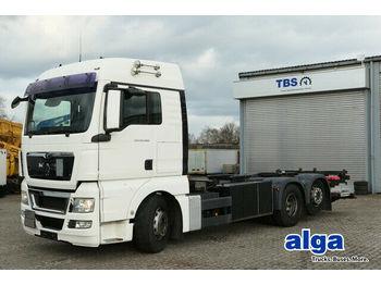 MAN 26.400 TGX/ADR/Falt LBW/Intarder/Klima  - camion porte-conteneur/ caisse mobile