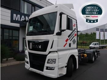 MAN TGX 26.400 6X2-2 LL / EBA / ACC / LGS - camion porte-conteneur/ caisse mobile