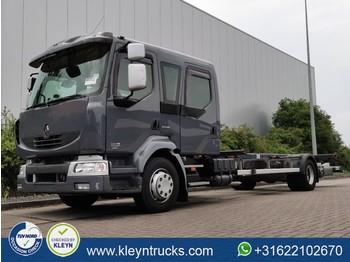Camion porte-conteneur/ caisse mobile Renault MIDLUM 280.13 crew cab 86dkm e5