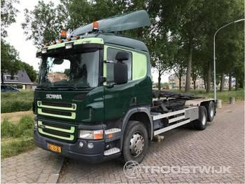 Scania P 420 lb 6x2 hha - camion porte-conteneur/ caisse mobile