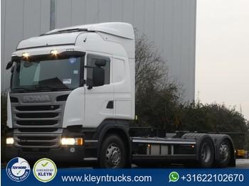 Camion porte-conteneur/ caisse mobile Scania R410 hl 6x2 mnb