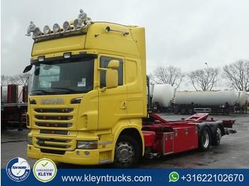 Camion porte-conteneur/ caisse mobile Scania R420 tl ret. 6x2*4 eev