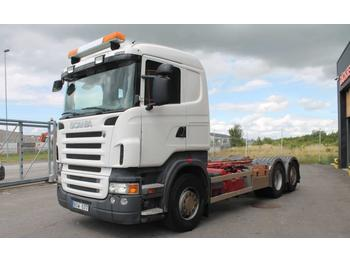 Scania R440LB6X2*4HSA Euro 5  - camion porte-conteneur/ caisse mobile