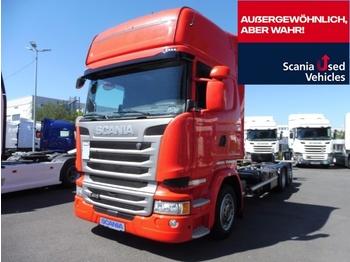 Scania R 410 LB6X2MLB - camion porte-conteneur/ caisse mobile
