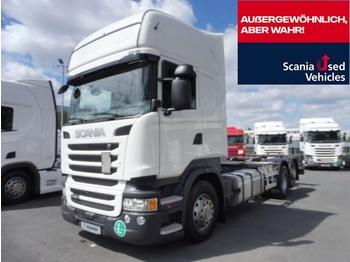 Scania R 450 LB6X2MNB - SCR Only - ACC - camion porte-conteneur/ caisse mobile