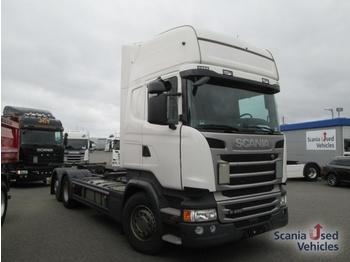 Scania R 450 LB6x2MNB Topline SCR only - camion porte-conteneur/ caisse mobile