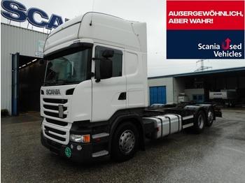 Scania Scania R450LB6X2MNB SCR only !!! - camion porte-conteneur/ caisse mobile