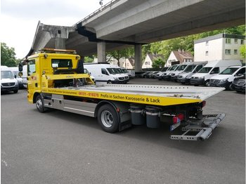 Camion porte-voitures MAN TG-L 10.XXX 10.220 Fg Schiebeplateau Hubbrille
