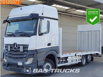 Mercedes-Benz Actros 2542 L 6X2 Machine-transporter Oprijauto Retarder New Body! Euro 6 - camion porte-voitures
