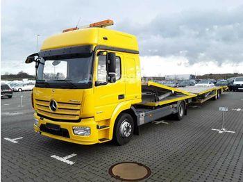 Camion porte-voitures Mercedes-Benz Atego 1230 L ,Kuvvetli SKS 76 A ,6er Zug