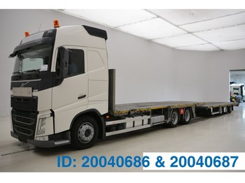 """Volvo FH13.420 Globetrotter """"ONLY IN COMBI"""" - camion porte-voitures"""