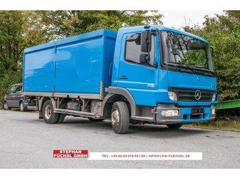 Mercedes-Benz Atego 818 Getränkekoffer Rolladen 145tkm! - camión transporte de bebidas