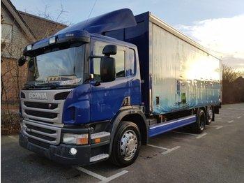 SCANIA P 320 6x2 MLB SafeServer - camión transporte de bebidas