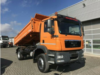 MAN TGM 18.290 FAK/4x4  - camión volquete