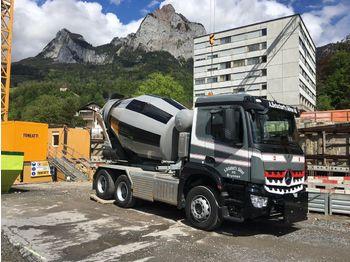 Mercedes-Benz 3342 6x4 / EuromixMTP  WECHSELSYSTEM KIPPER+MISC  - camión volquete