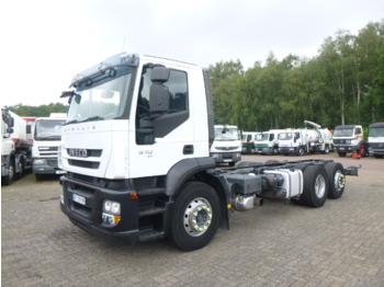 Iveco AD260S31Y 6x2 chassis - chasis camión
