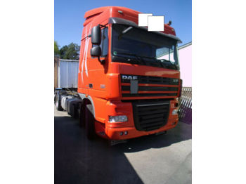 DAF XF 105.460 + Chassis + Top Zustand Reifen 80%  - châssis cabine