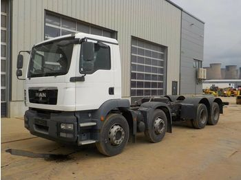 MAN 8x4 Chassis Cab, A/C (Registration Documents Are Not Available) - châssis cabine