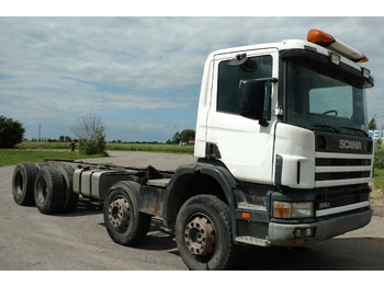 SCANIA P 114 340 8X4 - châssis cabine