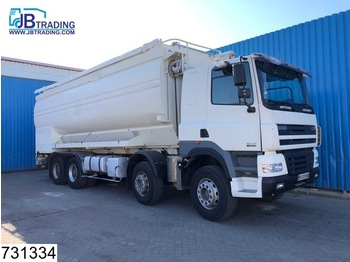 DAF 85 CF 430 8x4, Silo, Bulk, Manual, Retarder, Steel suspension, Airco, Hub reduction, 6 Compartments - cisterna camión